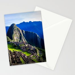 Machu Picchu First Light Stationery Cards