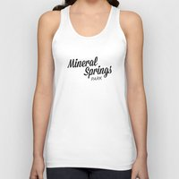 mineral Tank Tops featuring Mineral Springs by Parks of Seattle