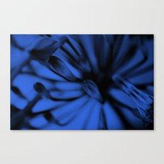 Tinted Iris [Blue] Canvas Print