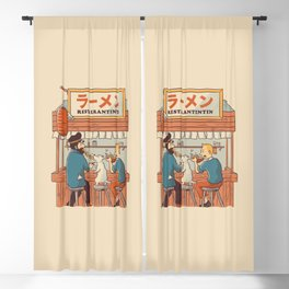 Ramen RestauranTinTin Cream Blackout Curtain