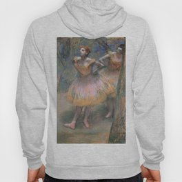 Red Headed Ballerina, Degas (Two Dancers c. 1890s) Hoody