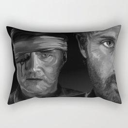 Rick and The Governor Rectangular Pillow