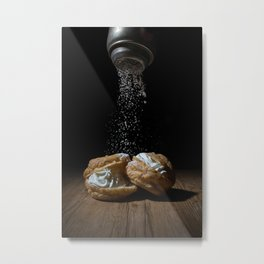Cream Puff Metal Print