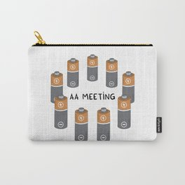 AA meeting Carry-All Pouch