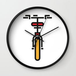 Bike Front Wall Clock