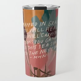 Wrapped in. grace Travel Mug