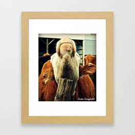 Thats the spot Framed Art Print