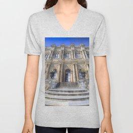 Dolmabahce Palace Istanbul Unisex V-Neck