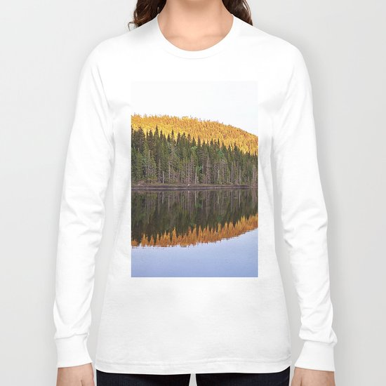 Fall Forest Reflected Long Sleeve T-shirt