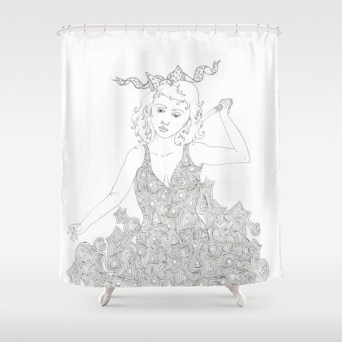 Murderer Shower Curtain