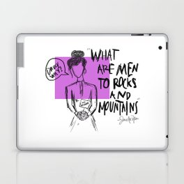 Darcy, Why? Laptop & iPad Skin