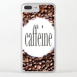 Caffeine Clear iPhone Case