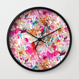 Local Color (Pink) Wall Clock