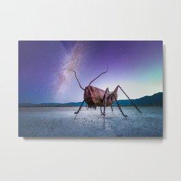 Desert Sculpture Metal Print