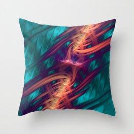 Spinal Tap - Fractal Art Throw Pillow