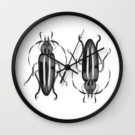 Mod Morrie Duo Wall Clock