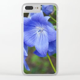 Floral Print 066 Clear iPhone Case