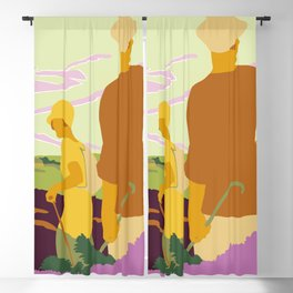Yorkshire Moors hiking Blackout Curtain