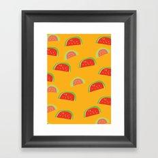 fruit cocktail Framed Art Print