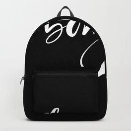 Bonjour,french greeting Backpack