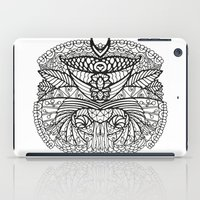ornate elephant iPad Cases featuring Ornate by RifKhas
