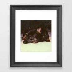 Lucie Framed Art Print