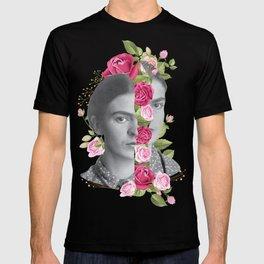 Half Frida Floral T-shirt