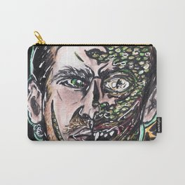 Reptilian Man Carry-All Pouch