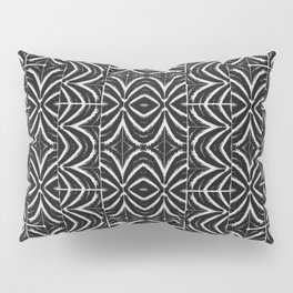 Black and White Tribal Print Pillow Sham