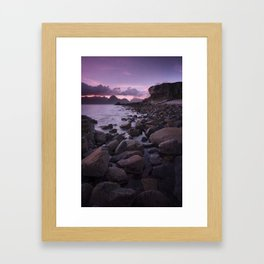 Raw and Rugged Framed Art Print