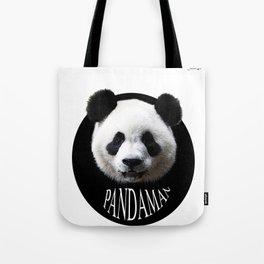 Panda cool man colors fashion Jacob's Paris Tote Bag