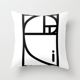 Golden Ration Throw Pillow