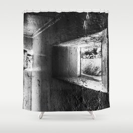 The Bunker Shower Curtain