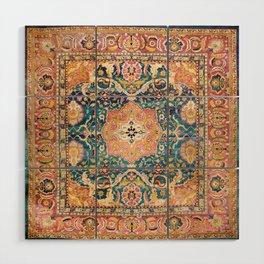 Amritsar Punjab North Indian Rug Print Wood Wall Art