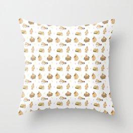 Manfried the Man Cutie Pattern Throw Pillow