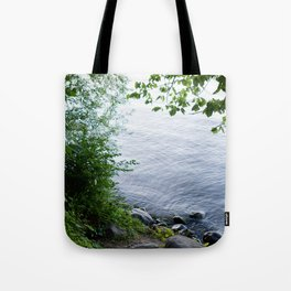 Sunset at the Lakefront Tote Bag