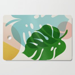 Abstraction_PLANTS_01 Cutting Board