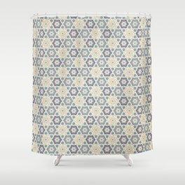 Hilda pattern Shower Curtain