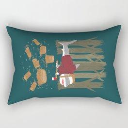 LumberJack Shark Rectangular Pillow