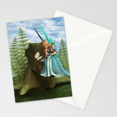 Fairy and Butterfly Stationery Cards