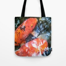 Koi Abstraction 001 Tote Bag