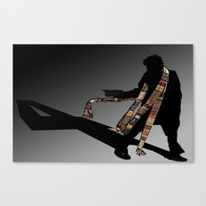 4th Doctor... Canvas Print