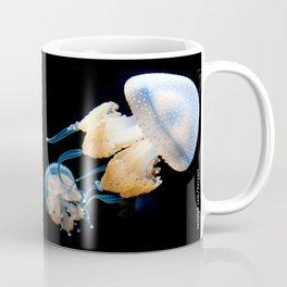 Jellyfish Swimming - Underwater Photography Coffee Mug