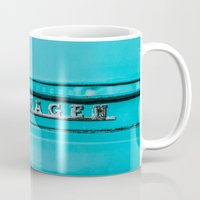 vw Mugs featuring vw by shine