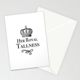 Her Royal Tallness Series: V4 Stationery Cards