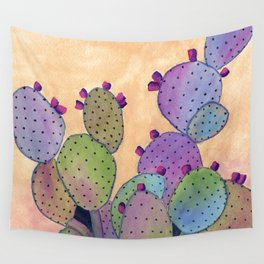 Colorful Cactus Wall Tapestry