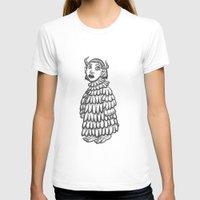 siren T-shirts featuring siren  by Hana Moine (Cloudless)