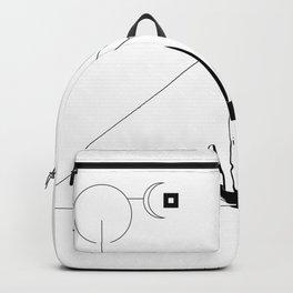 Desertscape (white) Backpack
