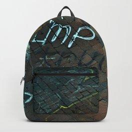 Spray paint: Impeach Trump Backpack