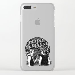 The Other Side Clear iPhone Case